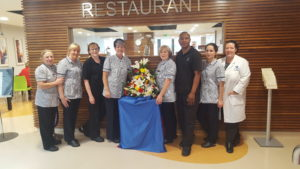 Gold- award-winning Catering team at Bon Secours Hospital Galway