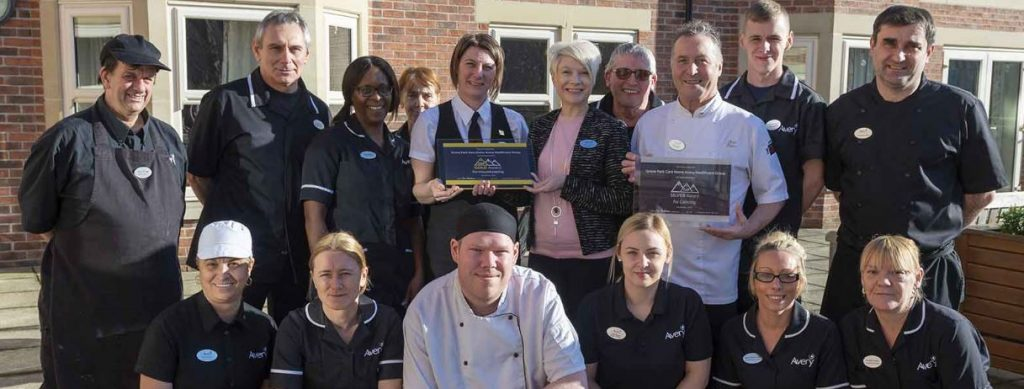 The Grove Park Care Home teams